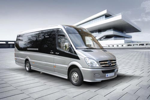 16 seater Mercedes