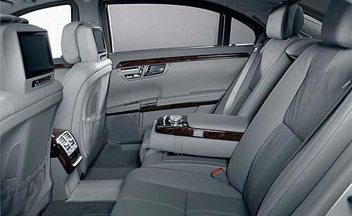 New Mercedes S Class Interior